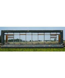 39 x 135 cm - Glas in lood raam No. 15