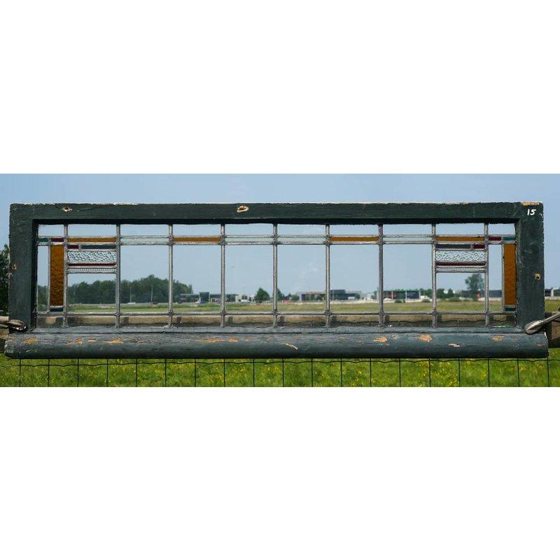 Glas in lood raam No. 15