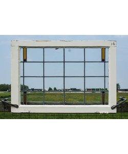 64 x 93 cm - Glas in lood raam No. 16