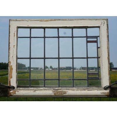64 x 82 cm - Glas in lood raam No. 17