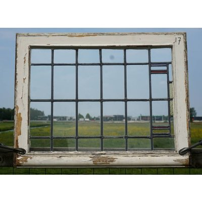 Glas in lood raam No. 17