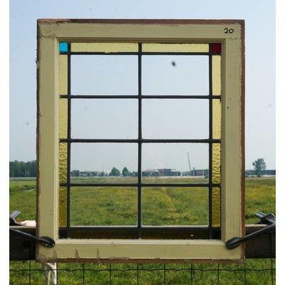 Glas in lood raam No. 20