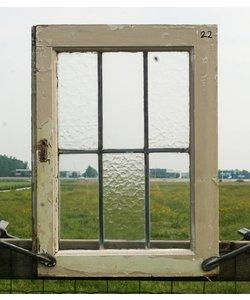 58 x 43 cm - Glas in lood raam No. 22