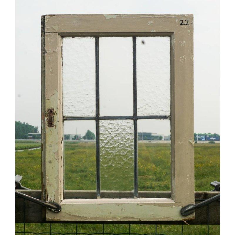 Glas in lood raam No. 22