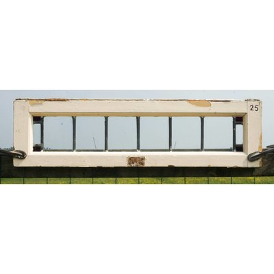 22 x 79,5 cm - Glas in lood raam No. 25