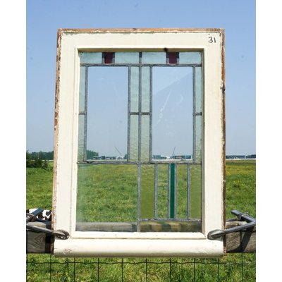 Glas in lood raam No. 31