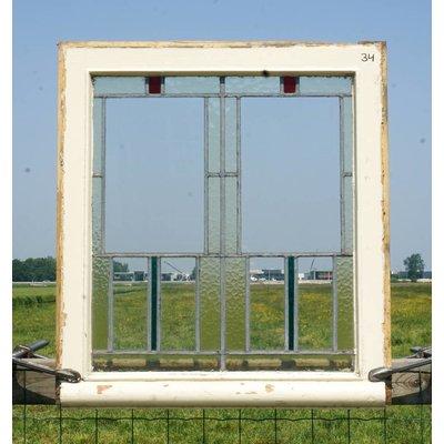Glas in lood raam No. 34