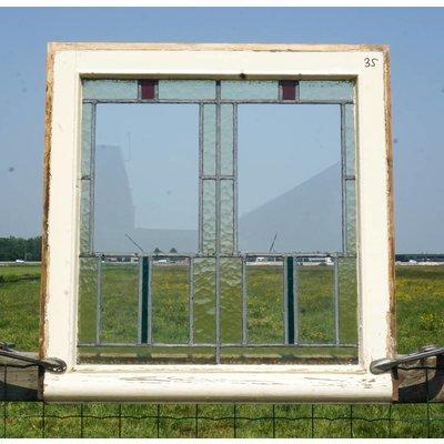 Glas in lood raam No. 35
