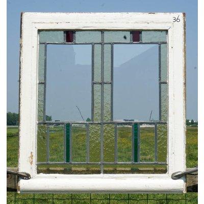Glas in lood raam No. 36