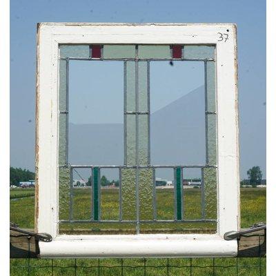 Glas in lood raam No. 37