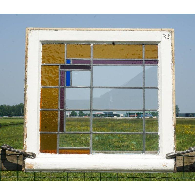 Glas in lood raam No. 38