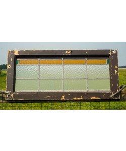 40 x 85 cm - Glas in lood raam No. 39