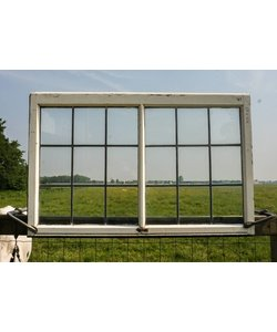 68 x 104,5 cm - Glas in lood raam No. 41