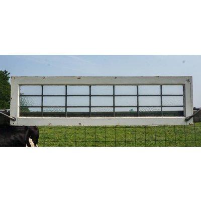 36 x 134,5 cm - Glas in lood raam No. 43