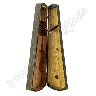 Oud viool opberg element