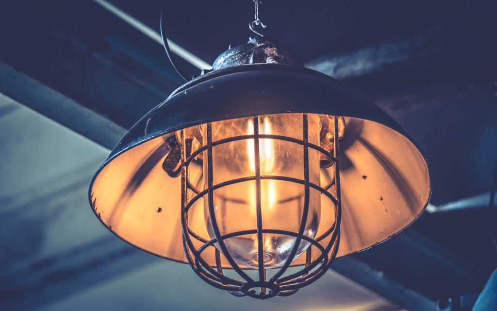 + Industriële lampen
