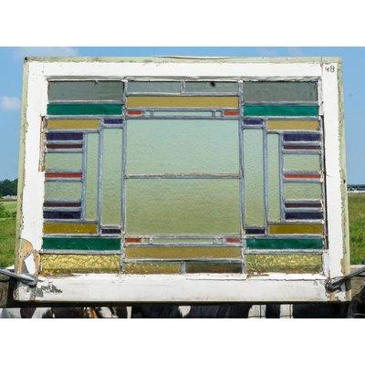 Glas in lood raam No. 48