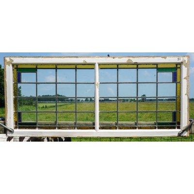 58 x 133 cm - Glas in lood raam No. 51