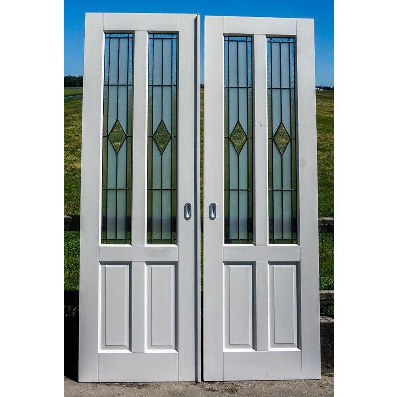 Glas in lood deuren No. 2