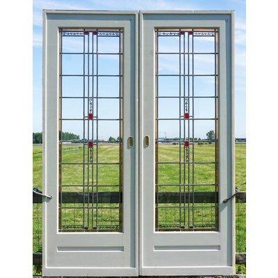 Glas in lood deuren No. 4