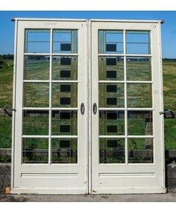 212 x 91 cm - Glas in lood deuren No. 7