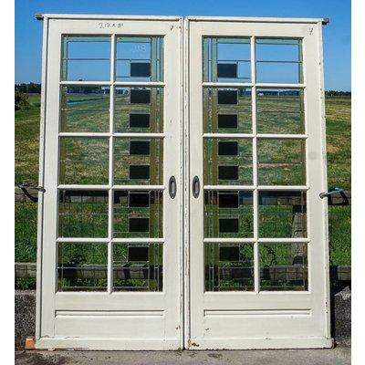 Glas in lood deuren No. 7