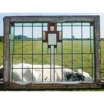 Glas in lood raam No. 56