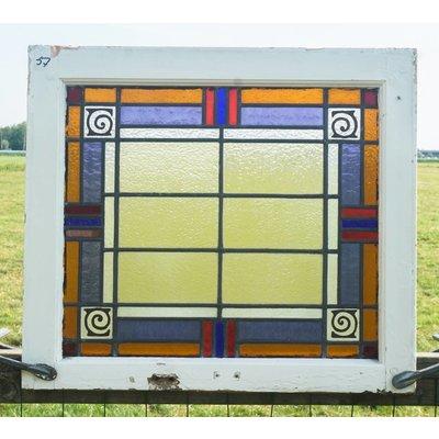 Glas in lood raam No. 57