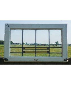 75,5 x 45 cm - Glas in lood raam No. 59