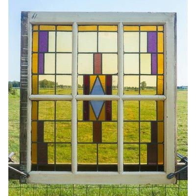 Glas in lood raam No. 61