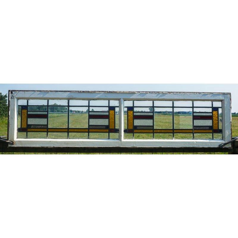 Glas in lood raam No. 62