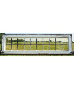 38 x 133,5 cm - Glas in lood raam No. 63