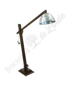 Vloerlamp ''Wood&Steel'' XXL