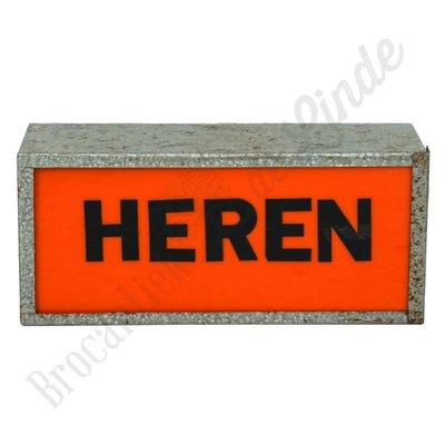 Lichtbox ''Heren''