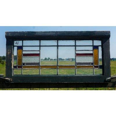 Glas in lood raam No. 66