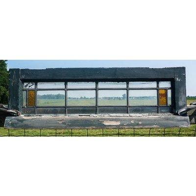 27 x 80 cm - Glas in lood raam No. 67