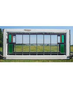 46,5 x 103 cm - Glas in lood raam No. 70