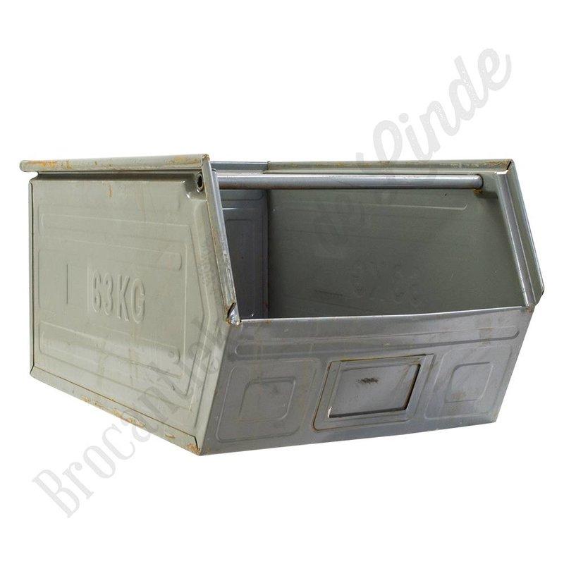 Vintage  magzijnbak XL 'Grey'
