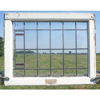 82 x 64,5 cm - Glas in lood raam No. 71