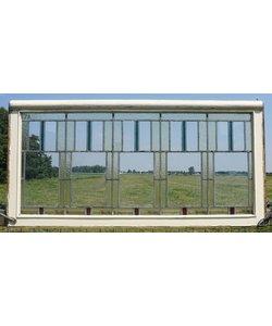 71,5 x 144 cm - Glas in lood raam No. 73