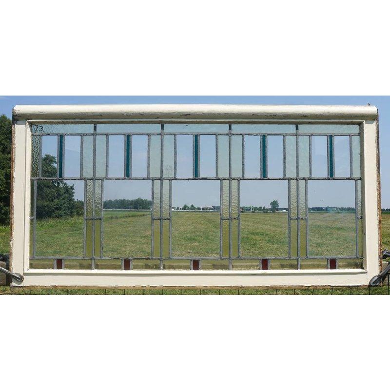Glas in lood raam No. 73