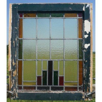 Glas in lood raam No. 74