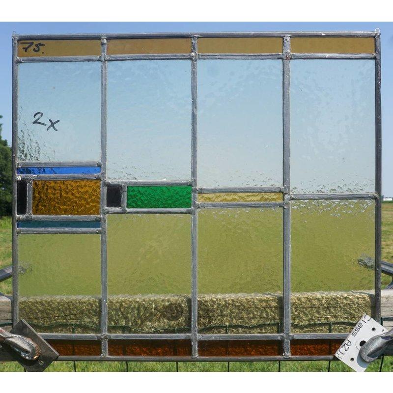 Glas in lood raam No. 75