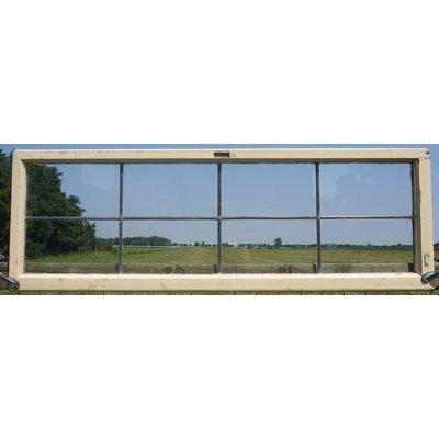 48,5 x 143 cm - Glas in lood raam No. 77