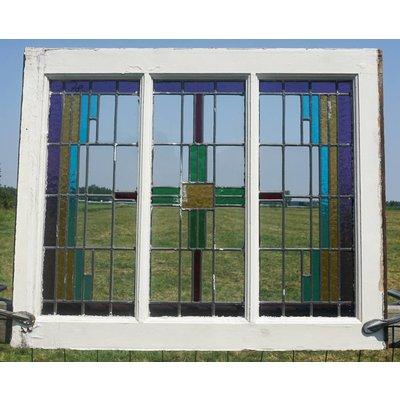Glas in lood raam No. 78
