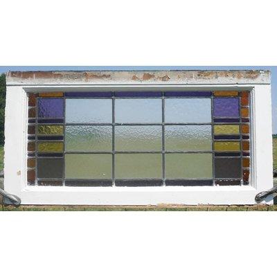 48 x 95 cm - Glas in lood raam No. 81