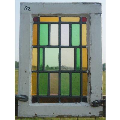 Glas in lood raam No. 82