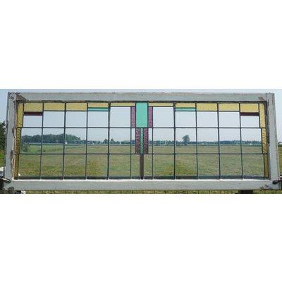 67 x 183 cm - Glas in lood raam No. 89