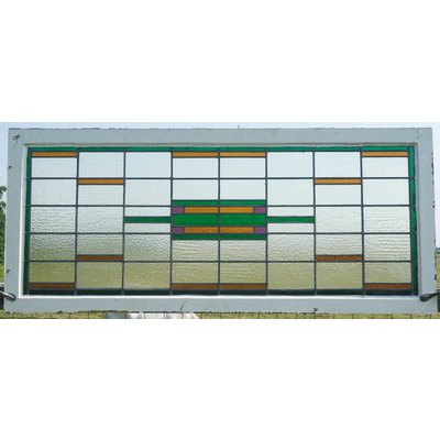 73 x 167,5 cm - Glas in lood raam No. 90