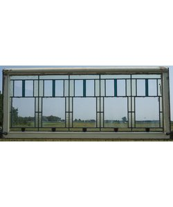 71 x 165 cm - Glas in lood raam No. 91